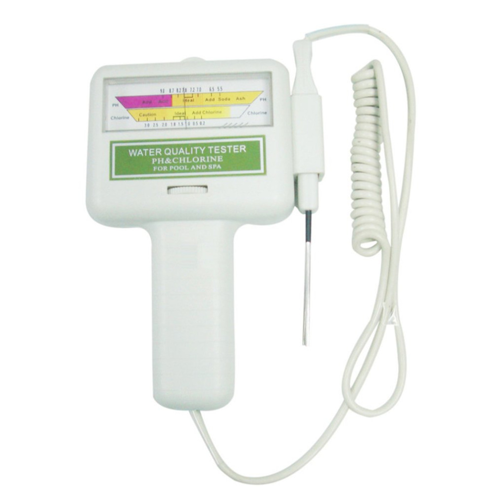 Ph cl2 chlorine tester digital water quality monitor - Swimming pool chlorine concentration ...