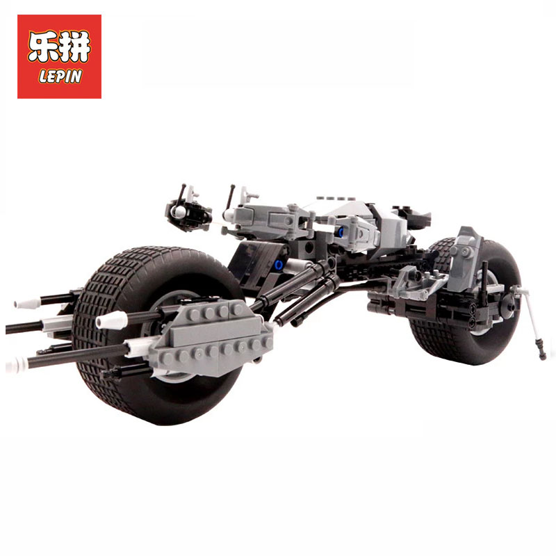 LEPIN 07061 Super Series Hero Batman Motorcycle Set Educational Building Blocks Kids Bricks Toys Model Gift LegoINGlys 5004590 building blocks pg966 the twelfth doctor idea021 doctor who set 21304 super hero action bricks kids diy educational toys hobbies