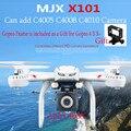 MJX X101 Drones Quadcopter 2.4g 6-axis Rc Helicóptero Drone con Gimble puede Agregar C4005 C4010 C4008 FPV Wifi Cámara Hd Vs X8c X8G