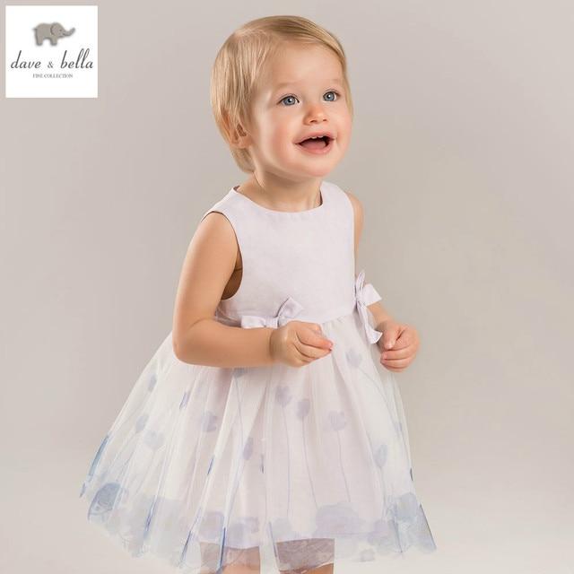 015be3826dbe5 US $26.77 44% OFF|DB5214 dave bella summer baby girls princess dress child  flowers dress kids ball gown dress children dress baby lolita costumes-in  ...
