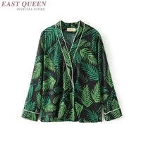 Yukata female Kimono cardigan shirt harajuku kawaii style Kimonos woman 2018 blouse obi haori Japanese streetwear AA4186