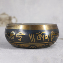 Tibetan Bowl Sing Nepalese Buddhist Chanting Yoga Meditation Sound Therapy Copper Religion Carft