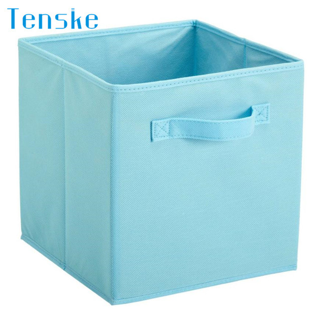 Merveilleux Foldable Storage Collapsible Storage Box Home Toy Clothes Organizer Fabric Cube  Storage Baskets 2MY25