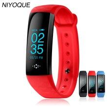 Niyoque Bluetooth Smart Браслет крови Давление/Кислорода Монитор сердечного ритма фитнес-трекер спортивный браслет для Android IOS