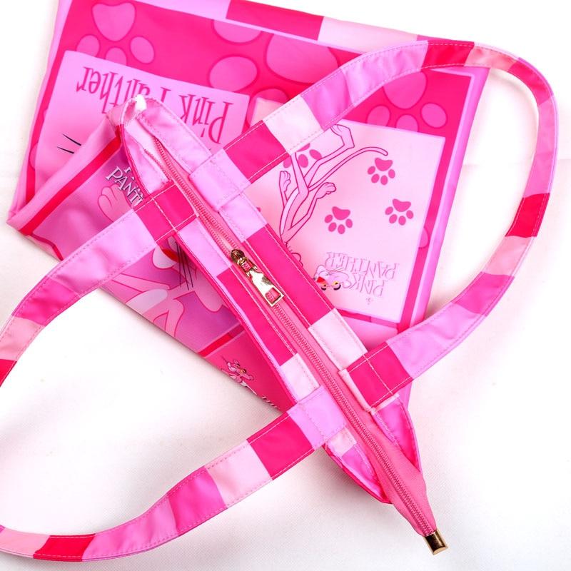 Stoffa Impermeabile Panther Shopping Nuovo Gw002q Bag Di Pink Arrivo Tote Borsa w4YYnzFx