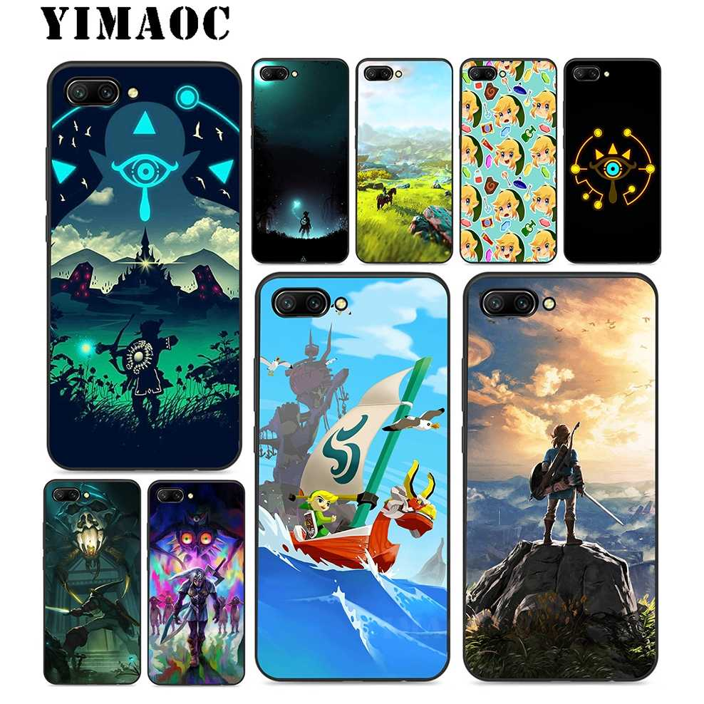 YIMAOC legend of zelda Soft Silicone Case For Huawei Honor Mate 10 P20 P9 P8 Smart Y6 6A 7A 7X 7C Pro 2017 2018 Lite