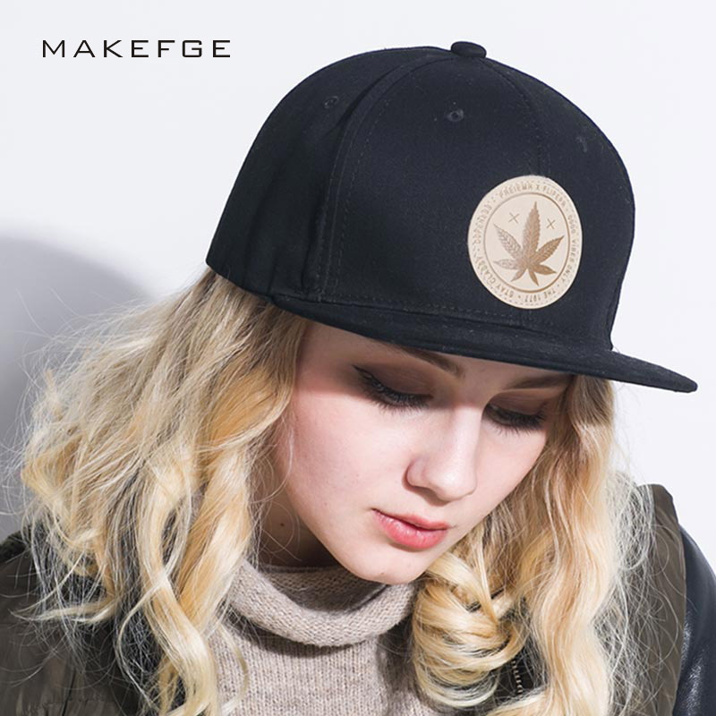 style cap Maple solid cotton snapback caps women's flat brim hip hop cap outdoor baseball cap bone gorras mens caps and hats mnkncl new fashion style neymar cap brasil baseball cap hip hop cap snapback adjustable hat hip hop hats men women caps
