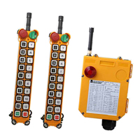 F24 18S for hoist crane 2 transmitter and 1 receiver industrial wireless redio remote control switch switches