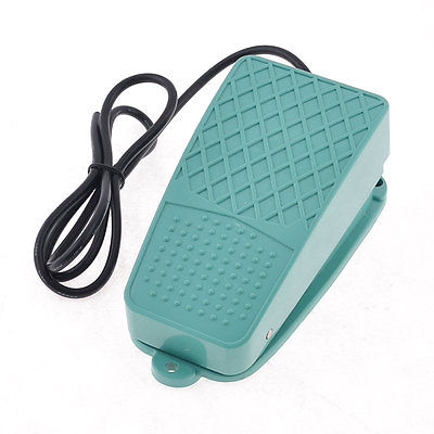 10A 250VAC SPST 1NO Nonslip Plastic Momentary Electric Power Foot Pedal Switch 1pc spst momentary soft touch push button stomp foot pedal electric guitar switch m126 hot sale