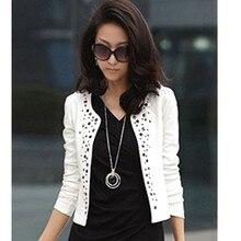 New Fashion Women's Short Jackets Long Sleeve Shrug Suits Outerwear Lady Small Coat Jacket  SV18