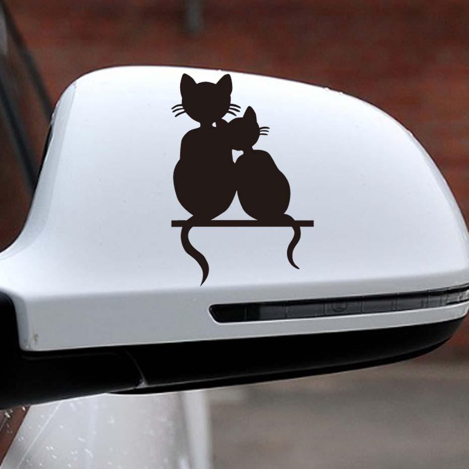 V02 Pet Cat Dog Rabbit Decal Sign Car Window Sticker Animals in Transit
