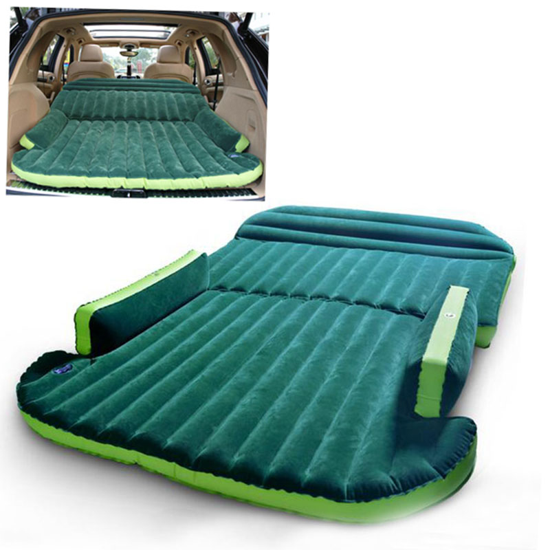 SUV Inflatable Mattress Car Seat Travel Bed Air Mattress With Air Pump Outdoor Camping Moisture-proof Pad Back Seat Camping     SUV Inflatable Mattress Car Seat Travel Bed Air Mattress With Air Pump Outdoor Camping Moisture-proof Pad Back Seat Camping