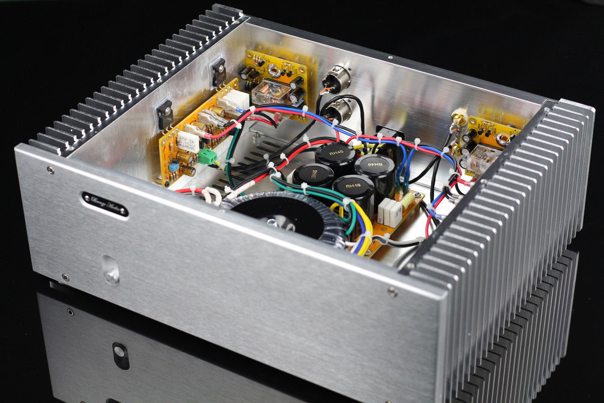 GZLOZONE PASS AM 10W+10W single ended Class A amplifier with Balance input L3 25