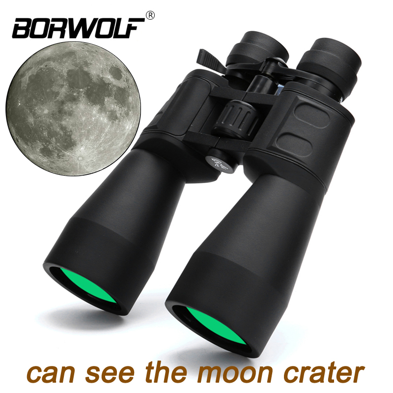 Borwolf 10-380X100  High magnification long range zoom 10-60 times hunting telescope Binoculars  HD Professiona  Zoom 2018 new borwolf 8x36 binoculars high magnification hd professional zoom high clear telescope military night vision