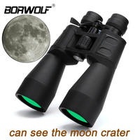 Borwolf 10 380X100 High magnification long range zoom 10 60 times hunting telescope Binoculars HD Professiona Zoom