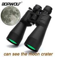 Borwolf 10-380X100 Hohe vergrößerung long range zoom 10-60 mal jagd teleskop Fernglas HD Professiona Zoom