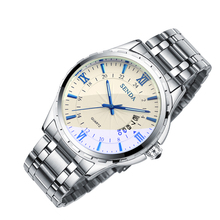 Quartz Automatic clocks luxury mens business waterproof top quality brand wristwatch military vintage relogio masculino ar