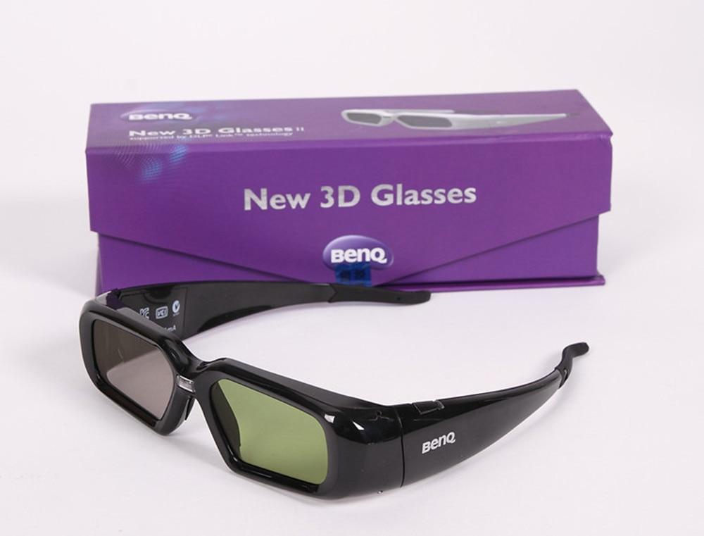 2pcs lots 144Hz DLP Shutter Active Shutter 3D Glasses for BenQ