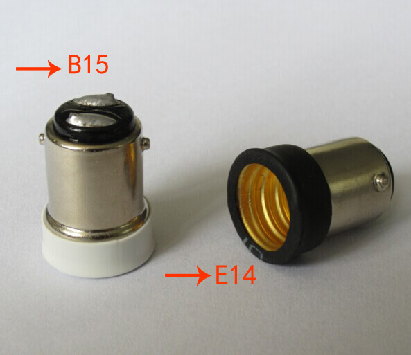 Brand New Small Bayonet SBC B15 To Small Screw SES E14 Light Bulb Holder Adaptor Converter Lowest Price