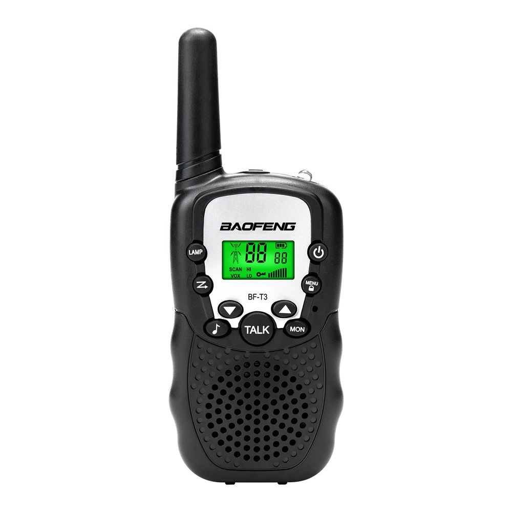 Image 3 - 1 Pair Mini Baofeng BF T3 Walkie Talkie Portable 8 Channel Children Two Way Radio 10 Call Tones Hf Transceiver Communicator T3-in Walkie Talkie from Cellphones & Telecommunications