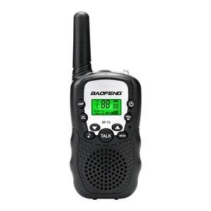 Image 3 - 1 Pair Mini Baofeng BF T3 Walkie Talkie Portatile 8 Canali Per Bambini A due Vie Radio 10 Toni di Chiamata Hf Ricetrasmettitore communicator T3