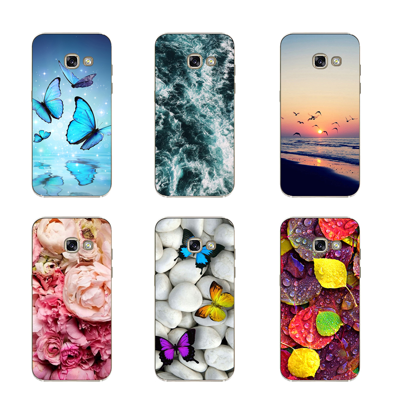 Soft TPU For Coque <font><b>Samsung</b></font> <font><b>Galaxy</b></font> <font><b>A3</b></font> <font><b>2017</b></font> <font><b>Case</b></font> <font><b>Silicon</b></font> Cover A320 A320F Phone For Cover <font><b>Samsung</b></font> <font><b>A3</b></font> A 3 <font><b>2017</b></font> Bumper <font><b>Case</b></font> Fundas image