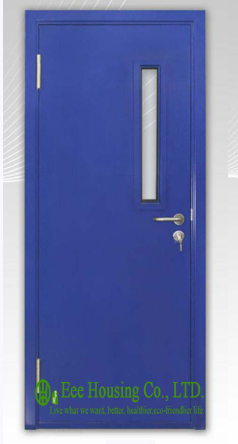 Ul label steel fire rated door with glass vision for - Commercial steel exterior doors with glass ...