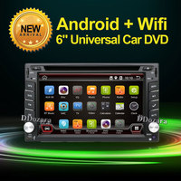 Car Electronics Android 6.0 2 din Universal de DVD Del Coche de Vídeo Reproductor Multimedia de Navegación GPS de Audio Estéreo de Radio, Bluetooth, SWC TV