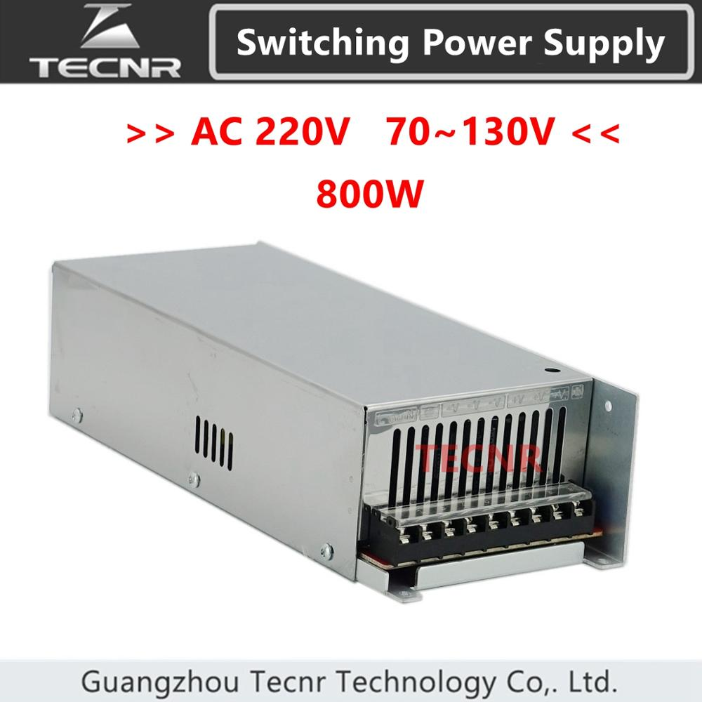 Switching Power Supply 800W input AC 220V output DC 0 70V 80V 100V 110V 130V transformer