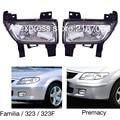 Fog Lights fits Mazda 323 F, Familia 1998 1999 2000 2001 2002 2003 2004, Premacy 1998 - 2001 Driving Lamps Pair