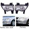 Luzes de nevoeiro encaixa Mazda 323 F, família 1998 1999 2000 2001 2002 2003 2004, Premacy 1998-2001 Condução Lâmpadas Par