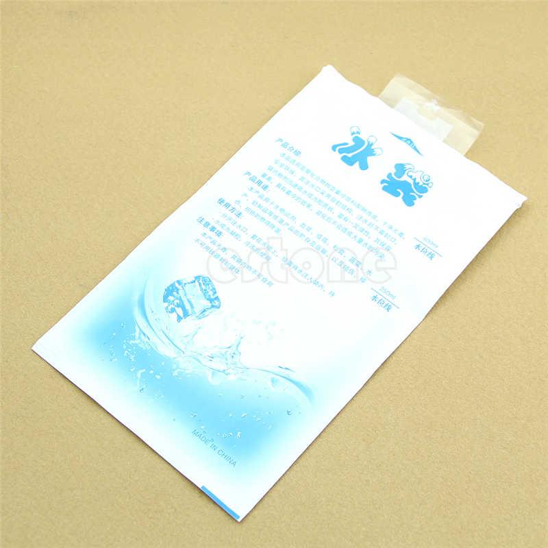 Recipiente de Alimento Térmico Saco de Gelo Bloco de Gelo Reutilizáveis ajustável Fresco fresco Injetar Água Materail PP 2018 de Cuidados Da Pele de Armazenamento a Frio Quente venda Nova