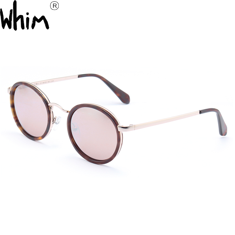 01ffd01b32c2 Whim New style antique round frame sunglasses with Unisex Polarized sun  glasses Apollo VI-in Sunglasses from Women s Clothing   Accessories on ...