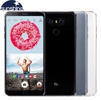 Оригинальный разблокирована LG G6 4 г LTE мобильный телефон Quad core 4 г Оперативная память 64 г/32 г встроенная память 5,7 '13.0MP двойной сзади камеры сма