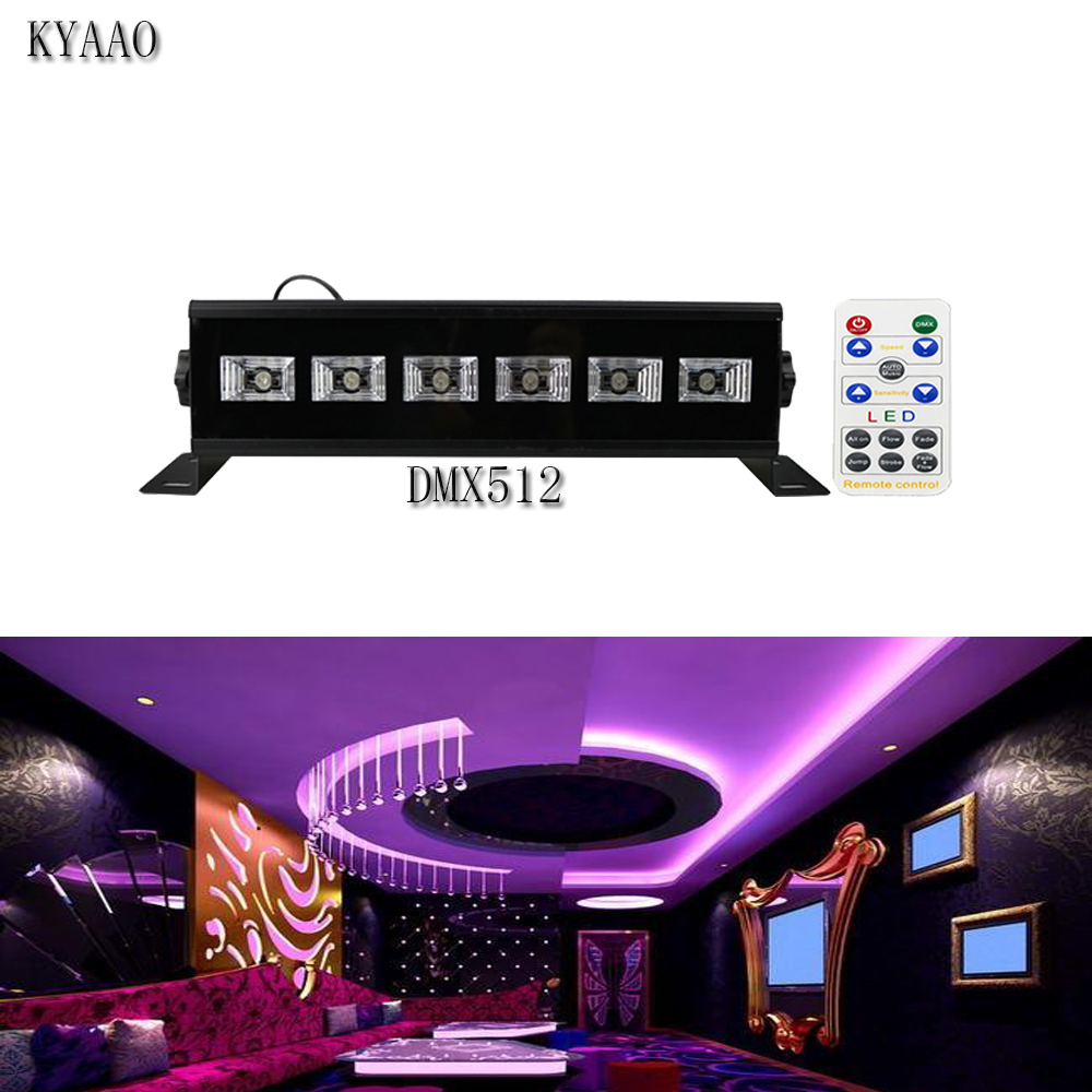 High Brightness UV Dmx Par Light 18W Violet Plant Growth Light Remote Purple Effect Stage Lighting