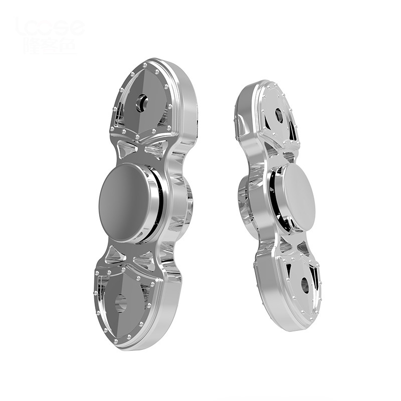 Finger Spinner Fidget Aluminum Alloy EDC Hand Spinner For Autism and ADHD New Design Anxiety Stress Relief Focus Toys Gifts new style edc round three corner camouflage hand spinner for autism and adhd anxiety stress relief focus toys