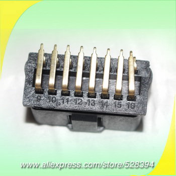 Wholesale J1962 OBD OBD2 OBDII 16Pin Male Connector OBD2 Plug with Right Angle Pin 90 Degree Pins 100pcs