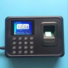 Hotsale 1000 useers 2.4 дюймов TFT Экран отпечатков пальцев посещаемость времени биометрический сканер с usb