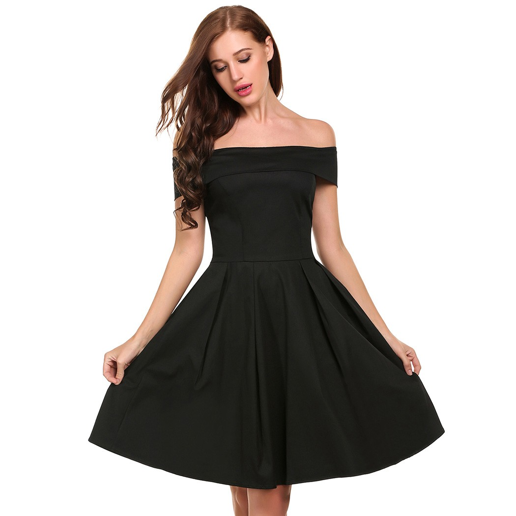Acevog women off shoulder dress casual sleeveless print slash neck acevog women off shoulder dress casual sleeveless print slash neck cocktail mini a line dress in dresses from womens clothing accessories on ombrellifo Images