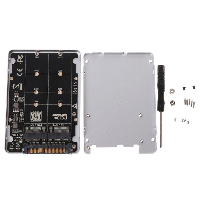PCIE 3,0 pci-express NGFF SSD X4 X16 Intel M-KEY b-key Card M.2 a U.2 SFF-8639 Adaptador convertidor con caja U2