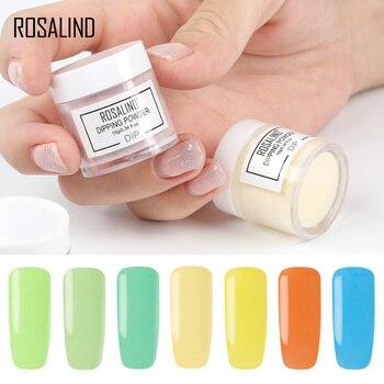 Rosalind 10g Polvo De Inmersión De Uñas De Color Natural