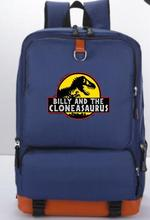 Jurassic Park Backpack Travel Shoulder Bag School Bags Laptop Teenagers Bookbag Mochila