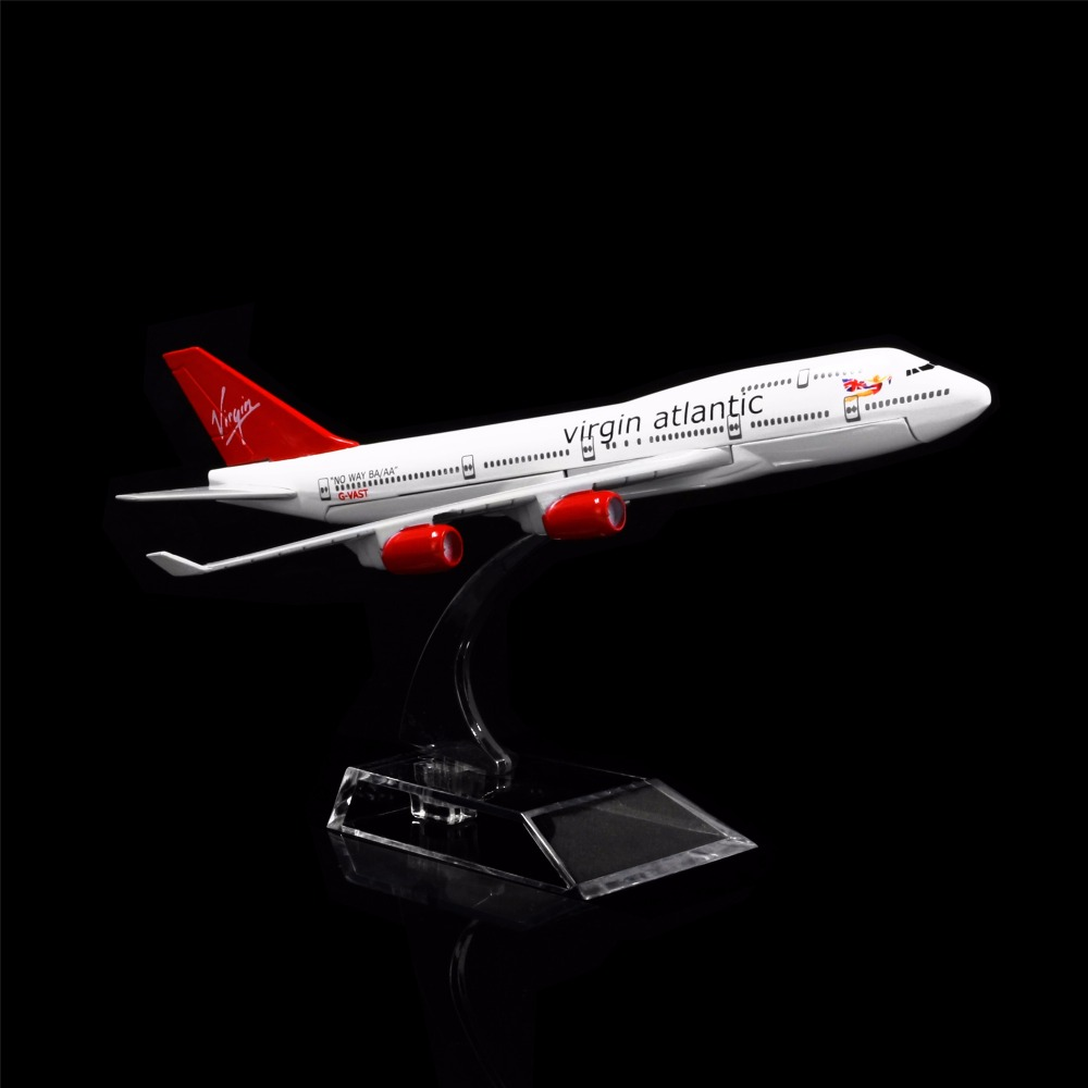 1:400 16cm France Boeing 747 Metal Airplane Model Office Decoration Toy Gift
