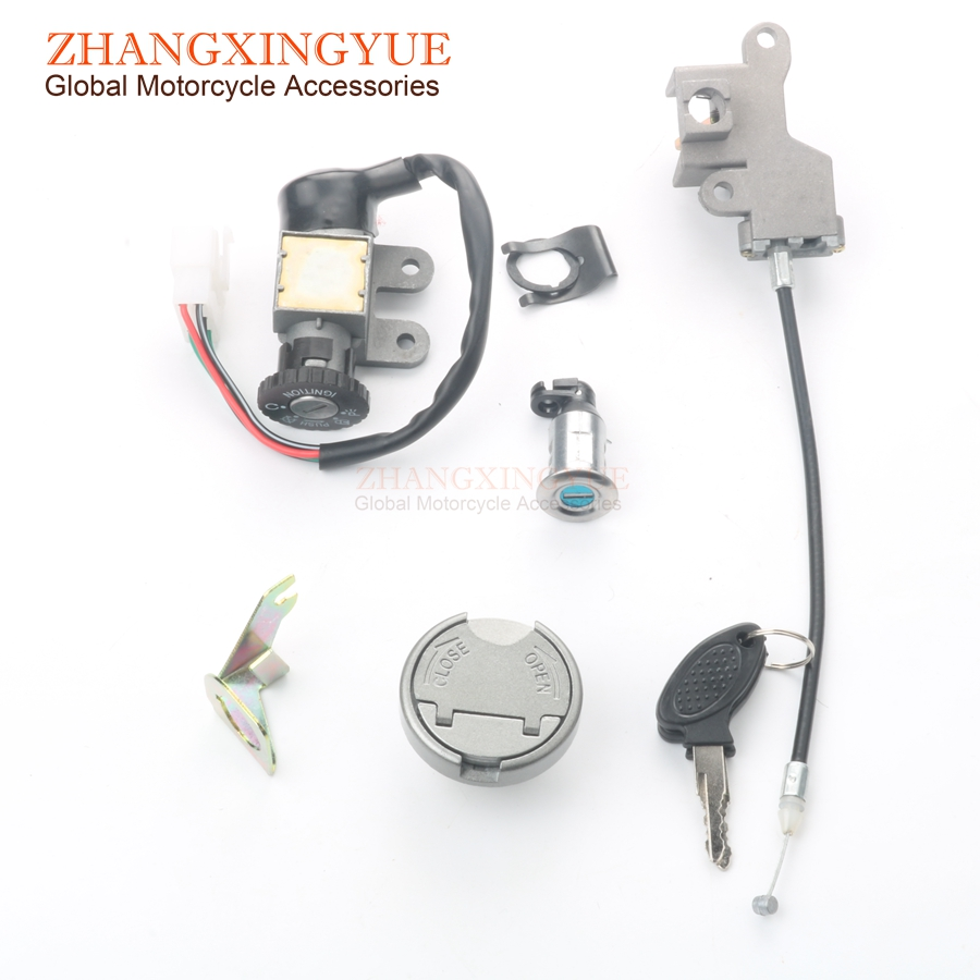 2b9810496 Detail Feedback Questions about Scooter Lock Set   5 Plug Ignition Lock    Tank Cap for SYM (SANYANG) Fiddle 2 Orbit 1 Symply 50cc 4 stroke AC (AV05W)  on ...