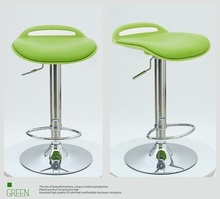 green color seat bar stool North American fashion bar lift chair free shipping exhibition hall hotel office stool