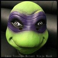 Spedizione gratuita Festa di Halloween Cosplay TMNT Teenage Mutant Ninja Turtles maschera Regali Toy 2 Colori formato Adulti per cosplay in magazzino