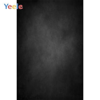 Yeele Gradient Solid Black Color Self Portrait Cloth Photography Backgrounds Customized Photographic Backdrops For Photo Studio