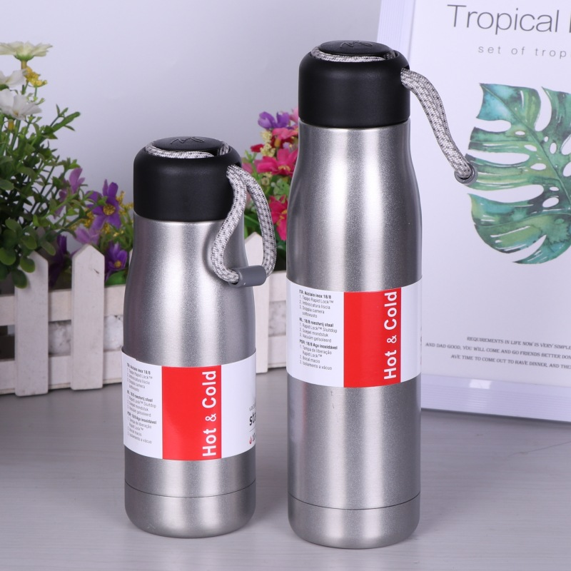 420ml/600ml Portable stainless steel Vacuum Thermos water bottles Outdoor Travel termos  thermos bottle