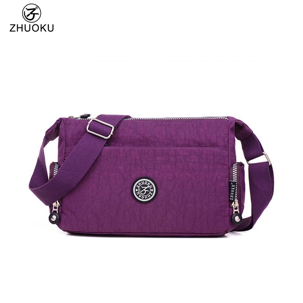 2017 new Hot Nylon waterproof Women cloth Bag Shoulder Bags Small Crossbody Bags Fashion Women Messenger Bags B023 women handbag shoulder bag messenger bag casual colorful canvas crossbody bags for girl student waterproof nylon laptop tote