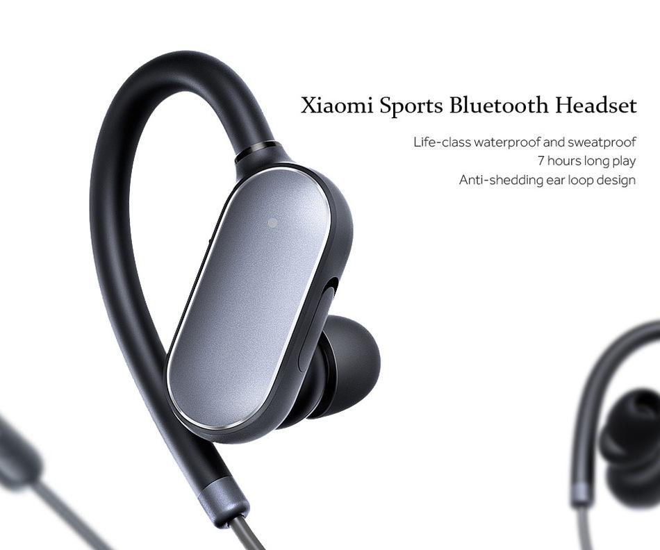 Origina Xiaomi Sport Bluetooth In Ear Earphones Stereo Waterproof Wireless Bluetooth Earphone Pk Meizu Ep51 In Ear Earphone Bluetooth Earphonesport Bluetooth Aliexpress
